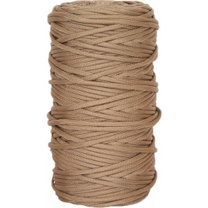 Tan 550LB Type III Nylon Paracord Rope Tube 300 Feet