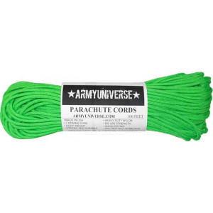 Neon Green 550LB Type III Nylon Paracord Rope 100 Feet