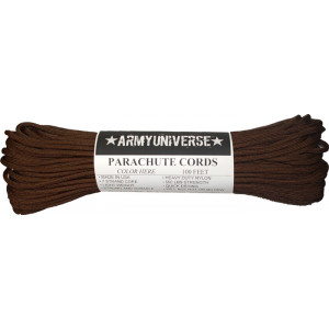 Walnut Brown 550LB Type III Nylon Paracord Rope 100 Feet