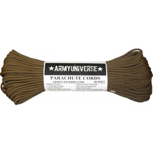 Coyote Brown 550LB Type III Nylon Paracord Rope 50 Feet