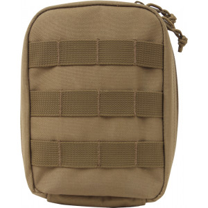 Coyote Brown MOLLE Tactical Trauma & First Aid Kit Pouch