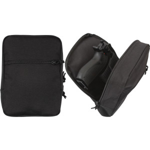 Black MOLLE Tactical Concealed Travel Carry Pouch