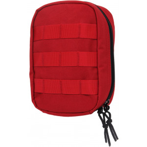 Red MOLLE Tactical Trauma & First Aid Kit Pouch