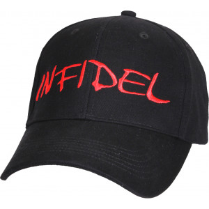 Black Infidel Adjustable Cap Baseball Hat