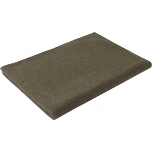 "Olive Drab Synthetic Wool Winter Blanket (90"" x 66"")"