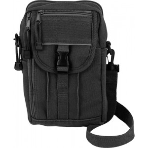 Black Military Classic Heavyweight Passport Travel Pouch