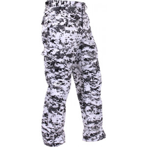 City Digital Camouflage Military Cargo BDU Fatigue Pants