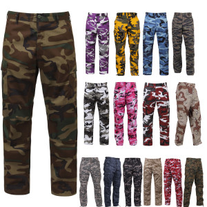 Digital Camo Tactical BDU Pants