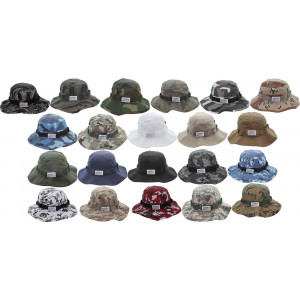 Camouflage Boonie Hat with ARMY UNIVERSE Pin