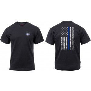 Thin Blue Line Shield T-Shirt
