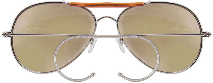 Brown Lenses Military Air Force Aviator Sunglasses 7e5af752bc4