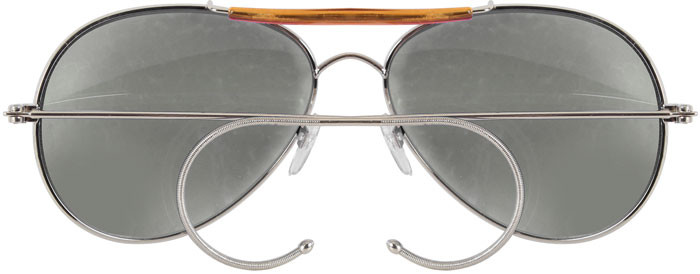 Smoke Lenses Military Air Force Aviator Sunglasses 458675d4e60