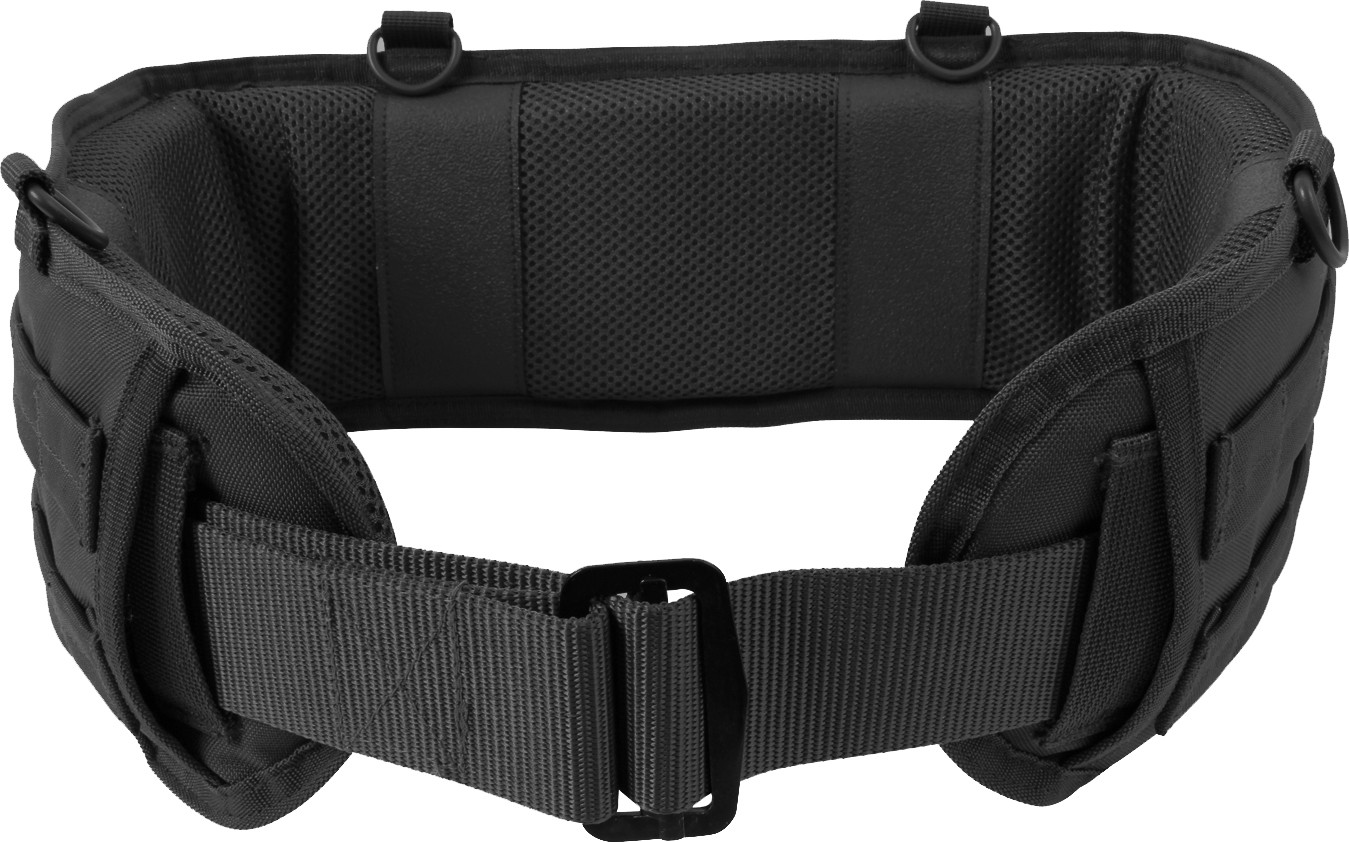 Black Padded Tactical MOLLE Battle Belt 0c9a5d55b7c