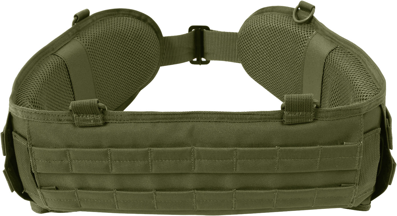 Olive Drab Padded Tactical MOLLE Battle Belt 179df3e2364