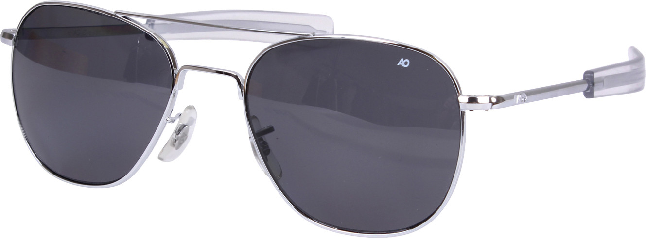 American Optics Chrome Polarized Genuine GI 55mm Air Force Pilots Sunglasses 30330ed99b7
