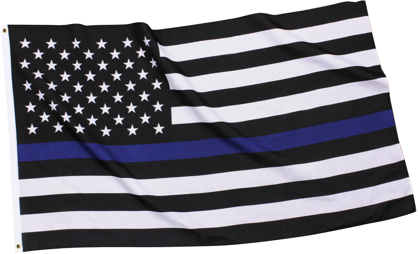Subdued Thin Blue Line Flag Support The Police American Flag 3  x 5  dc875457ab2