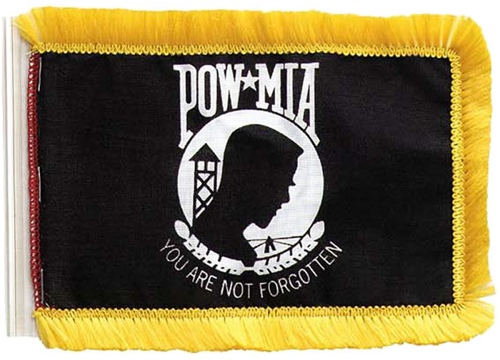 Image result for POW/MIA ANTENNA flag