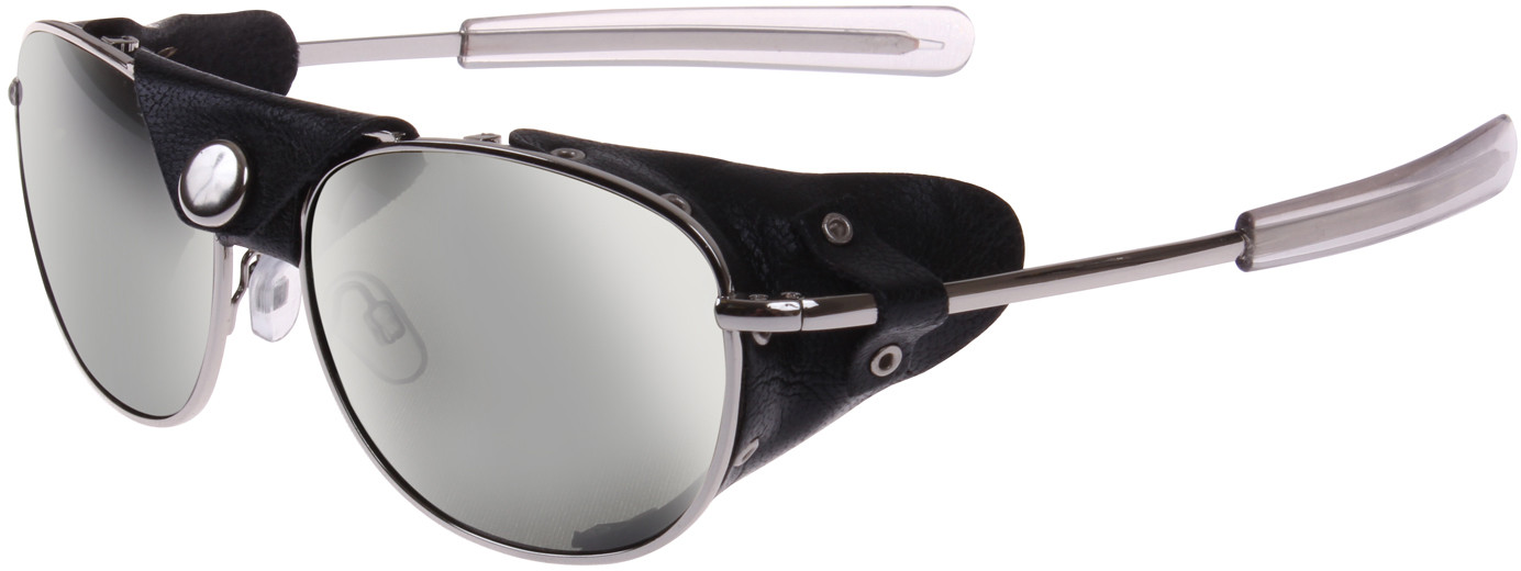 Silver   Smoke Tactical Aviator UV400 Sunglasses with Wind Guards e137e9e551d