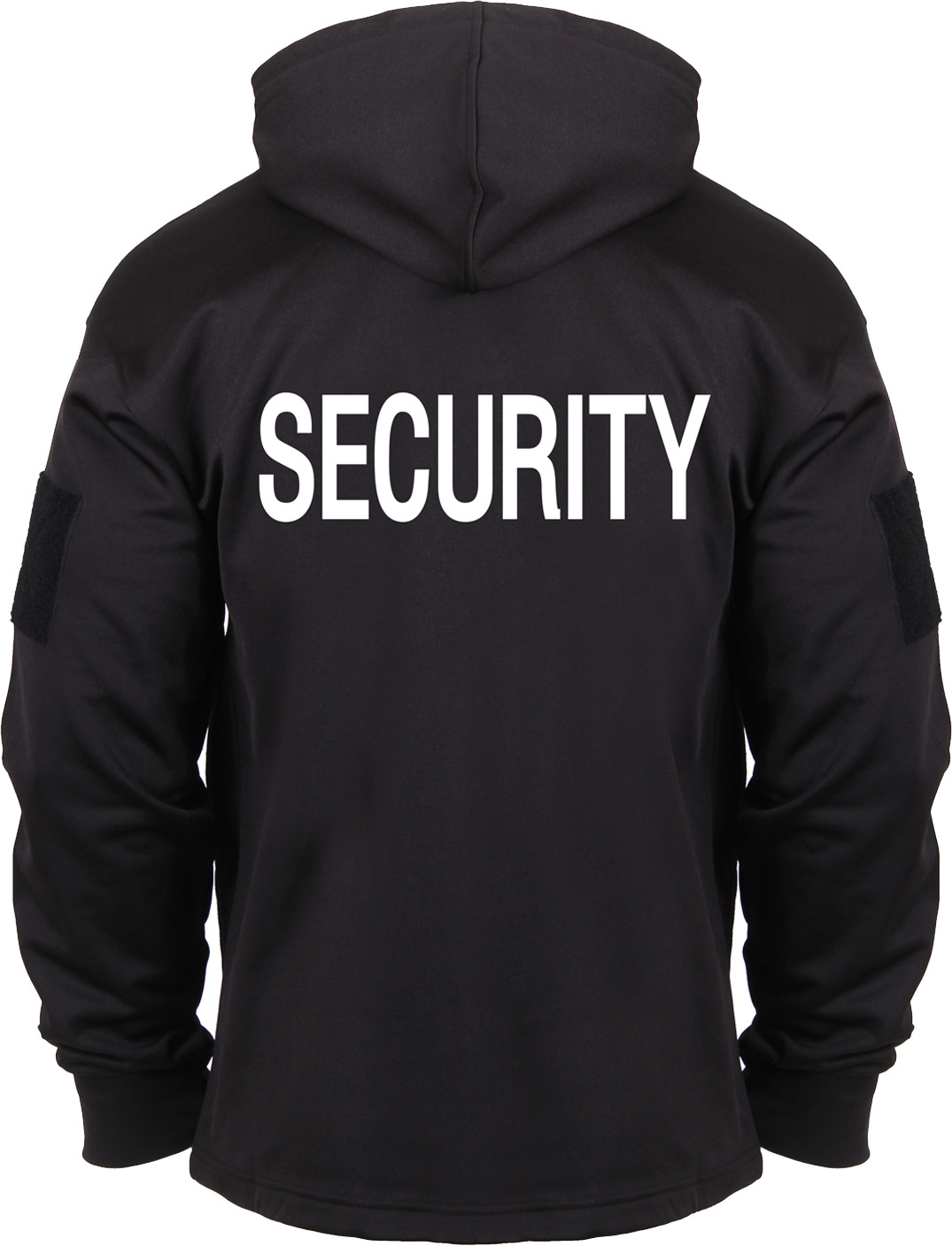 Black Double Sided Security Concealed Carry Tactical Hooded Sweatshirt acd63c339