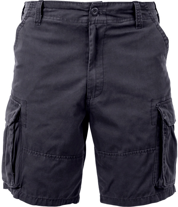 More Views. Black Vintage Military Paratrooper Cargo Shorts ... 785a70cff62