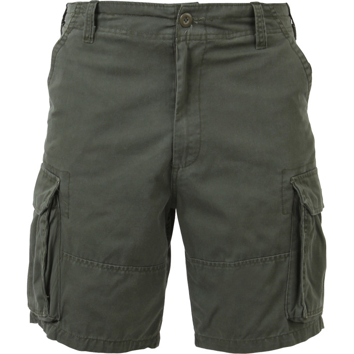 8cadac1fad More Views. Olive Drab Vintage Military Paratrooper Cargo Shorts ...