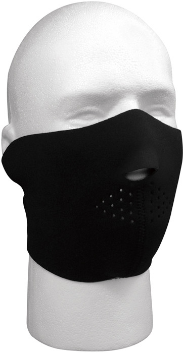 Woodland Camouflage   Black Reversible Stretch Half Face Mask 07a0110759d