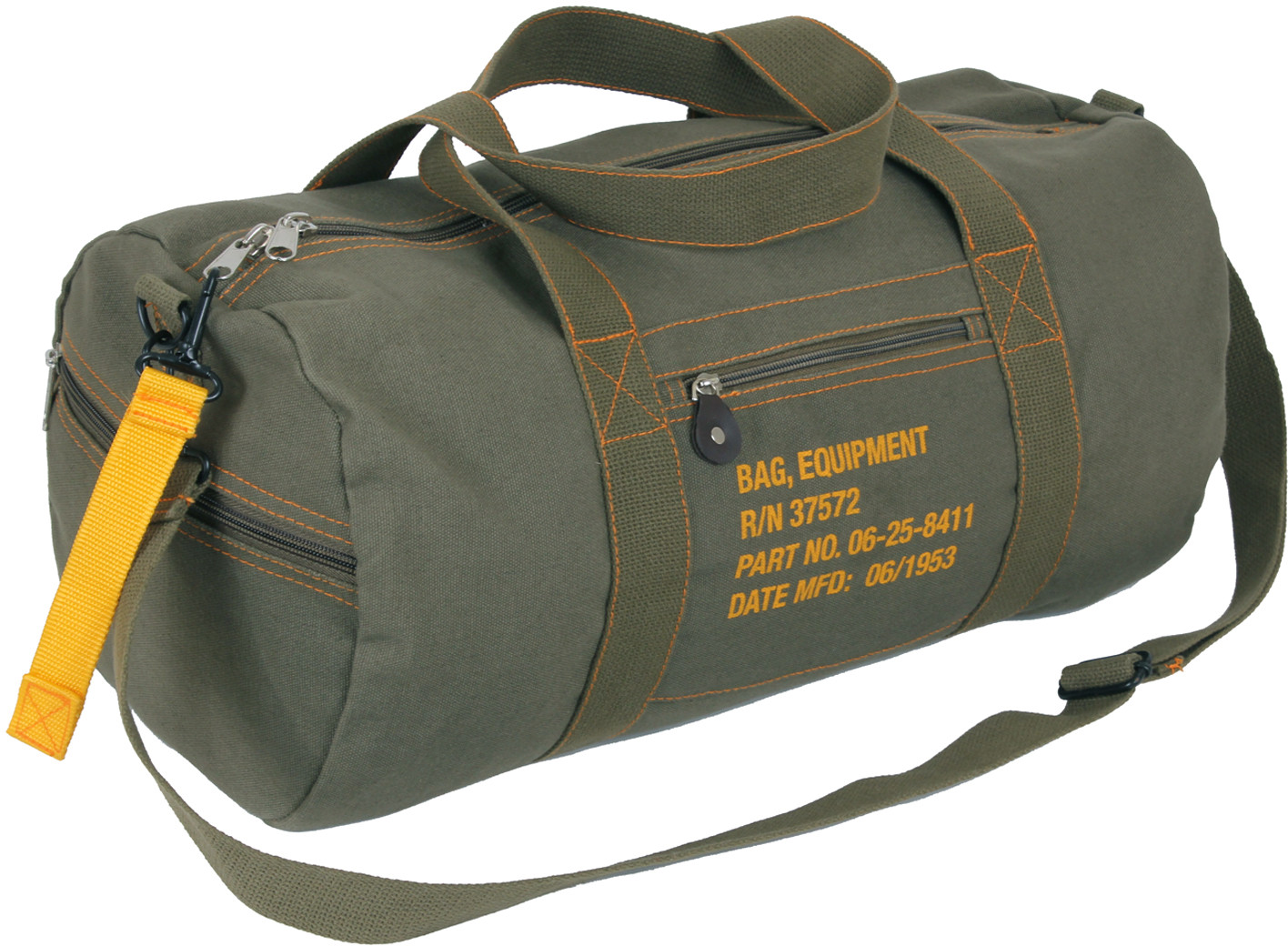 More Views. Olive Drab Canvas Equipment Duffle Carry Shoulder Bag ... 94227d975eb