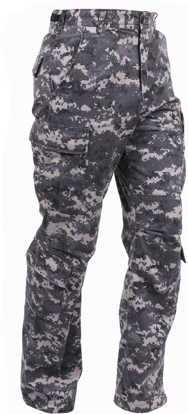 Subdued Urban Digital Camouflage Vintage Military Paratrooper BDU Pants 9a37734b8dd