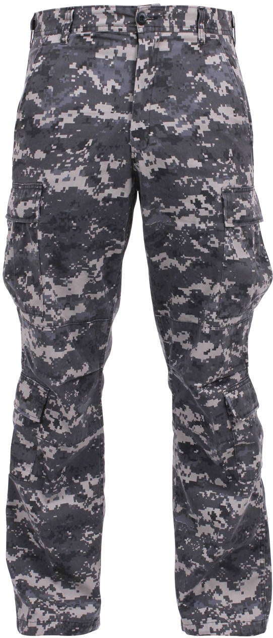 Subdued Urban Digital Camouflage Vintage Military Paratrooper BDU Pants c4e6219cca9