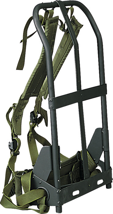 Black Military Alice Pack Frame With Olive Drab Attachments a6627631a3a