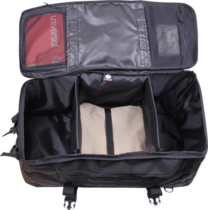 Black Multi Functional Convertible 3 In 1 Mission Duffle Bag f569c45dbab