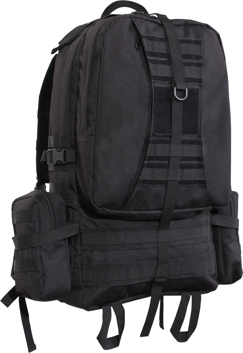 Black Military MOLLE Concealed Carry Global Tactical Assault Pack 08c8fd70a05