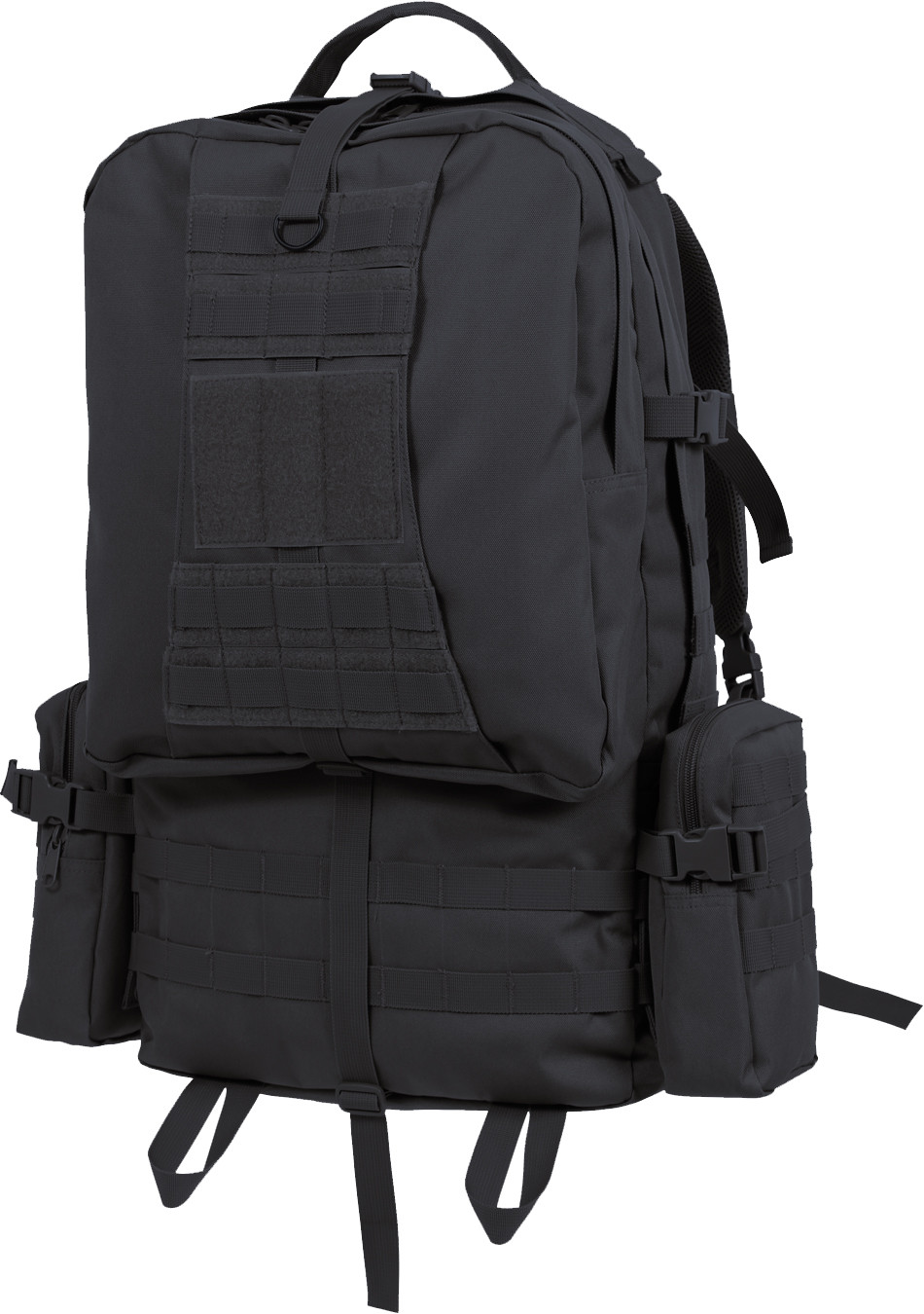 Black Military MOLLE Concealed Carry Global Tactical Assault Pack 3a8477a63d0