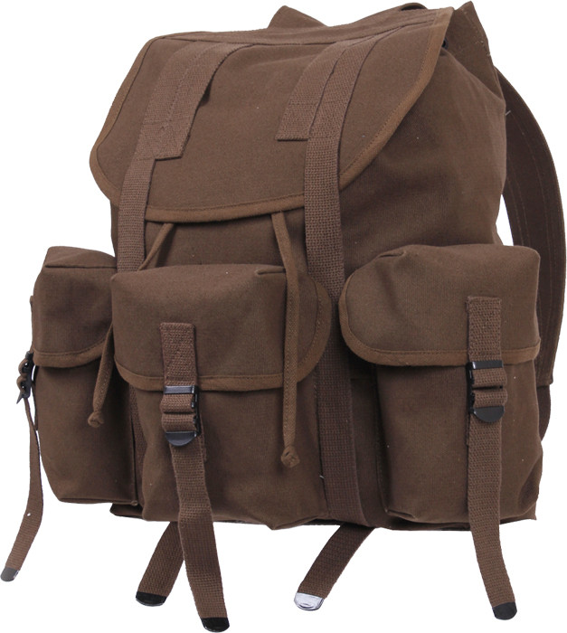 Earth Brown Military Heavy Weight Canvas Mini Alice Pack f3c05ed9dc0