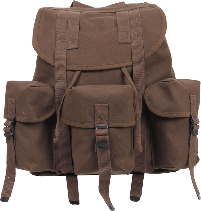 More Views. Earth Brown Military Heavy Weight Canvas Mini Alice Pack ... e04b301711c