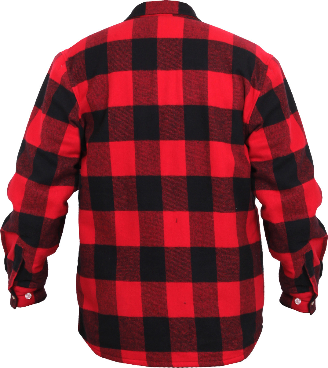 red extra heavyweight brawny buffalo plaid fleece lined flannel shirt. Black Bedroom Furniture Sets. Home Design Ideas