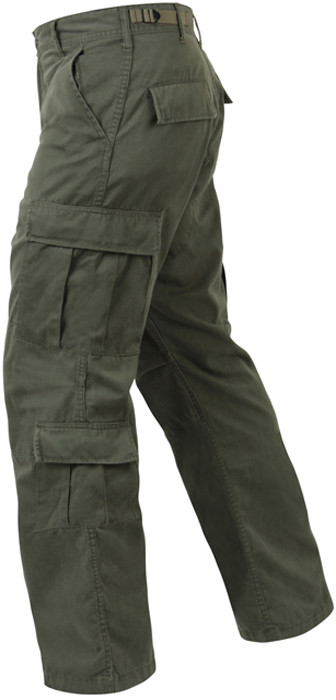 More Views. Olive Drab Vintage Military Paratrooper BDU Pants ... 66e834e49e7