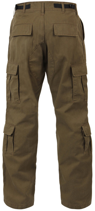 ... usset Brown Vintage Military Paratrooper BDU Pants ... 54a51dcb92d