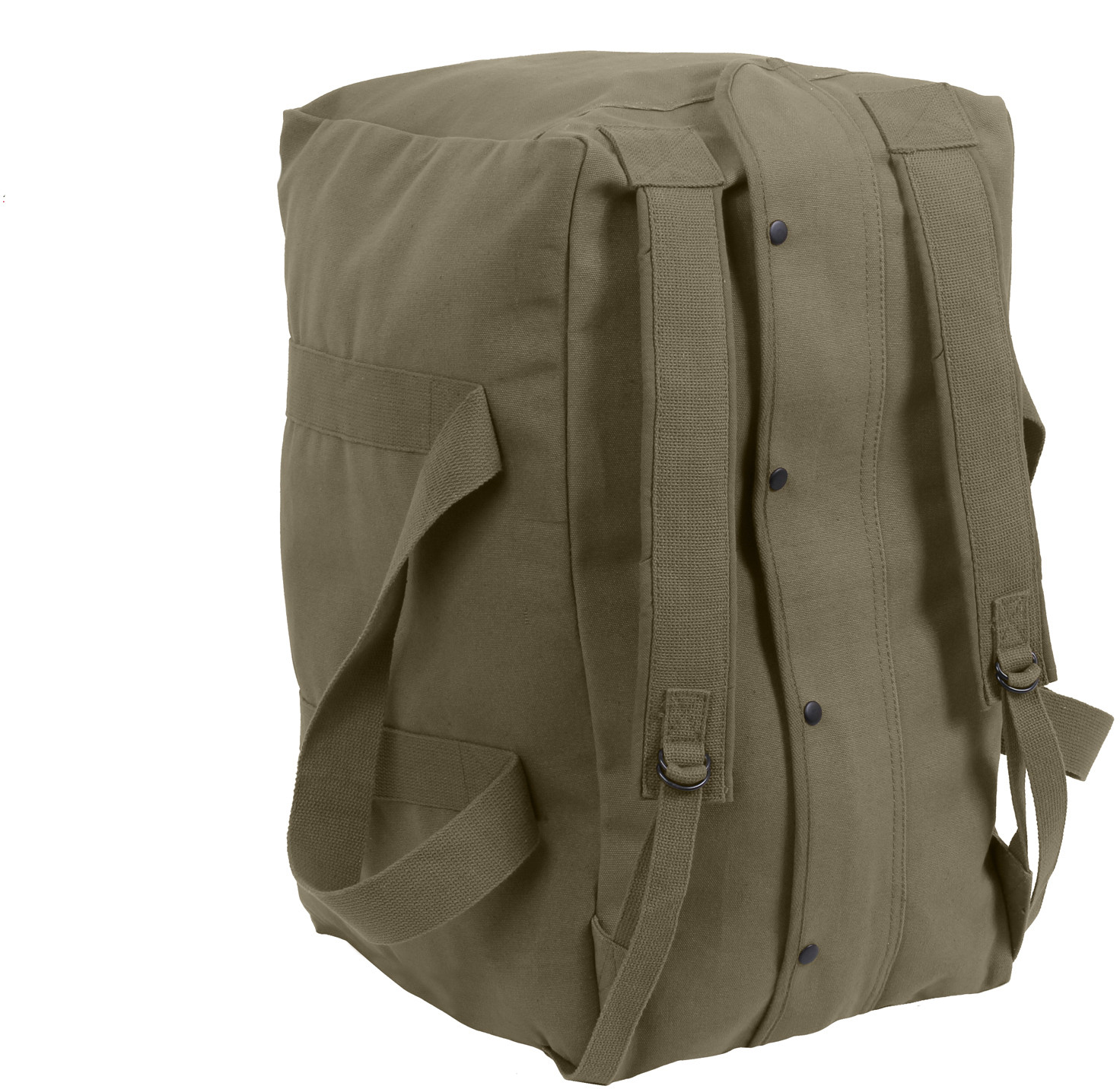 Olive Drab Canvas Mossad Type Tactical Canvas Cargo Bag fce67a2bf63