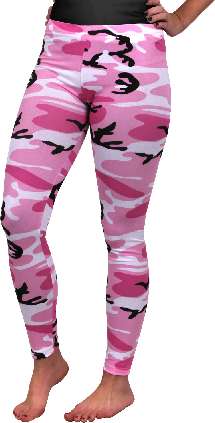 Women s Pink Camouflage Breathable Military Cotton Spandex ... c41ff89e2f