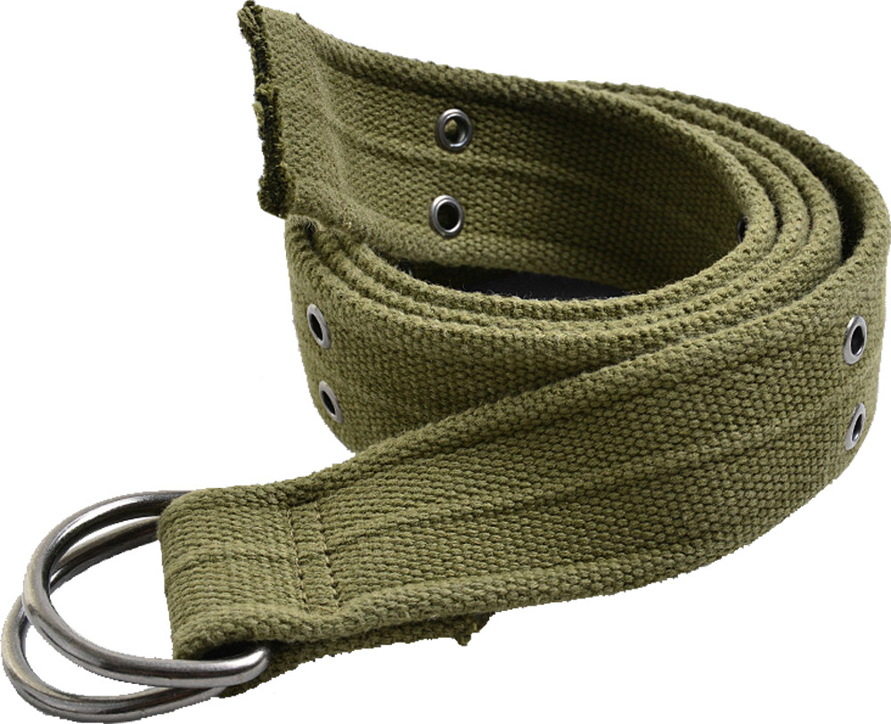 Olive Drab Heavy Duty Thick Military D-Ring Belt e1a0ab4325e