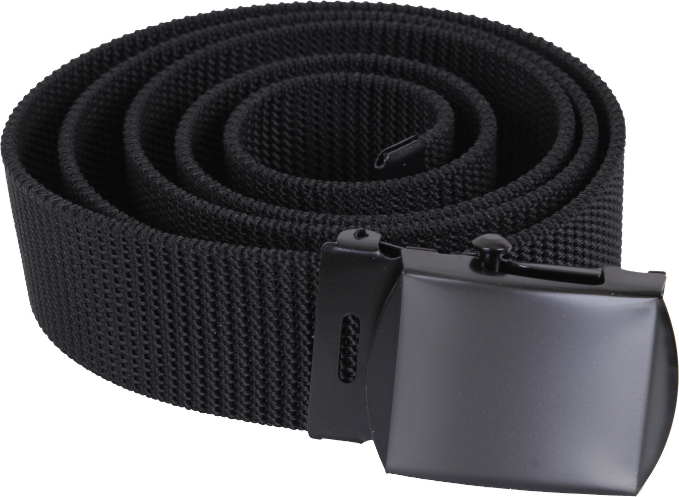 Black Nylon Web Belt with Black Buckle 8fbc9100446