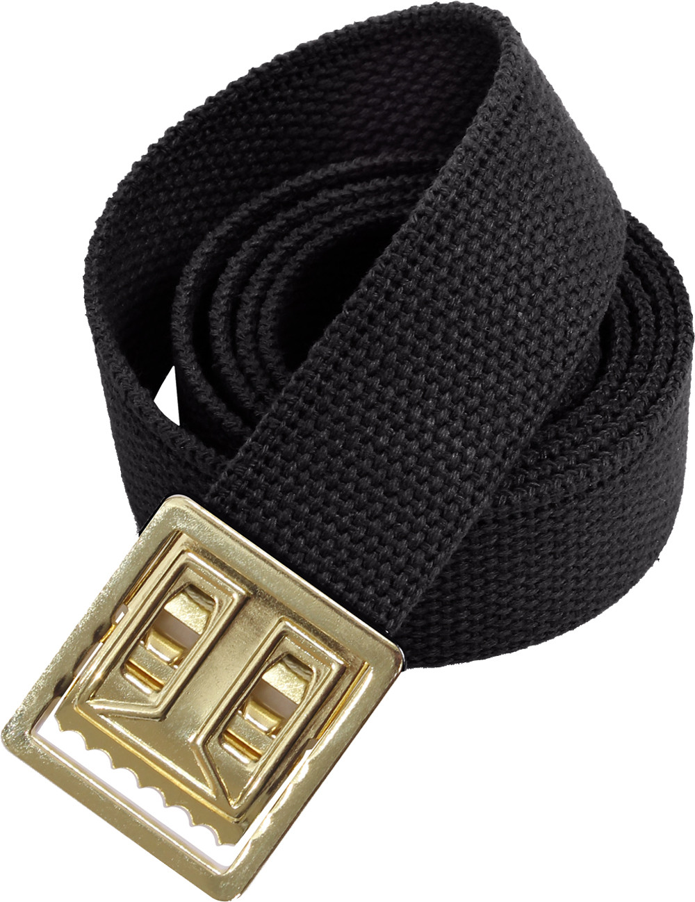 More Views. Black Military Cotton Web Belt   Brass Open Face Buckle ... 0b7d4f40464