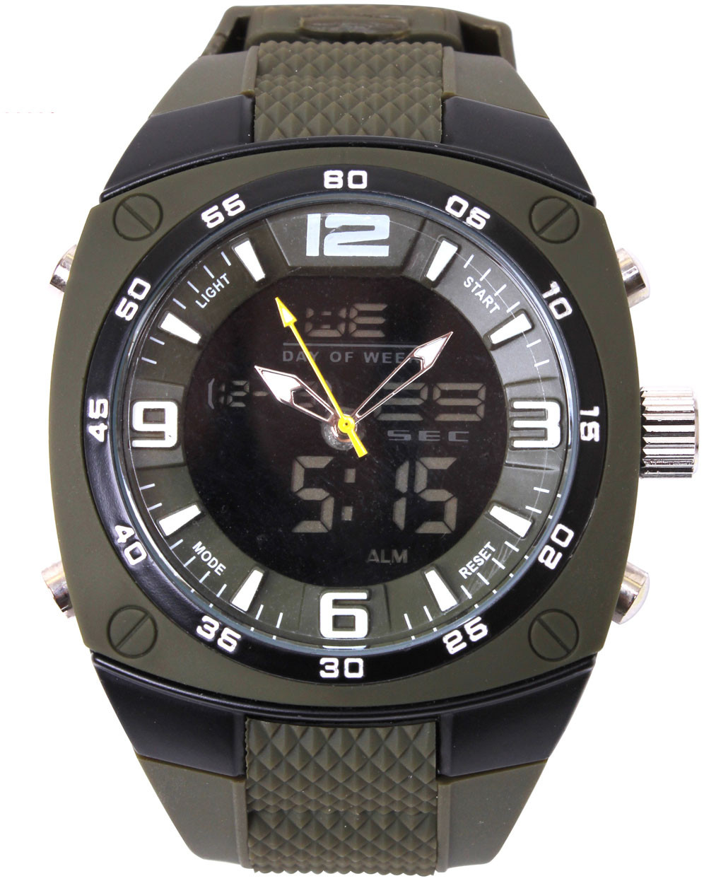 Extra Large Military Combo Analog   Digital Tactical Watch 367ff8b9942