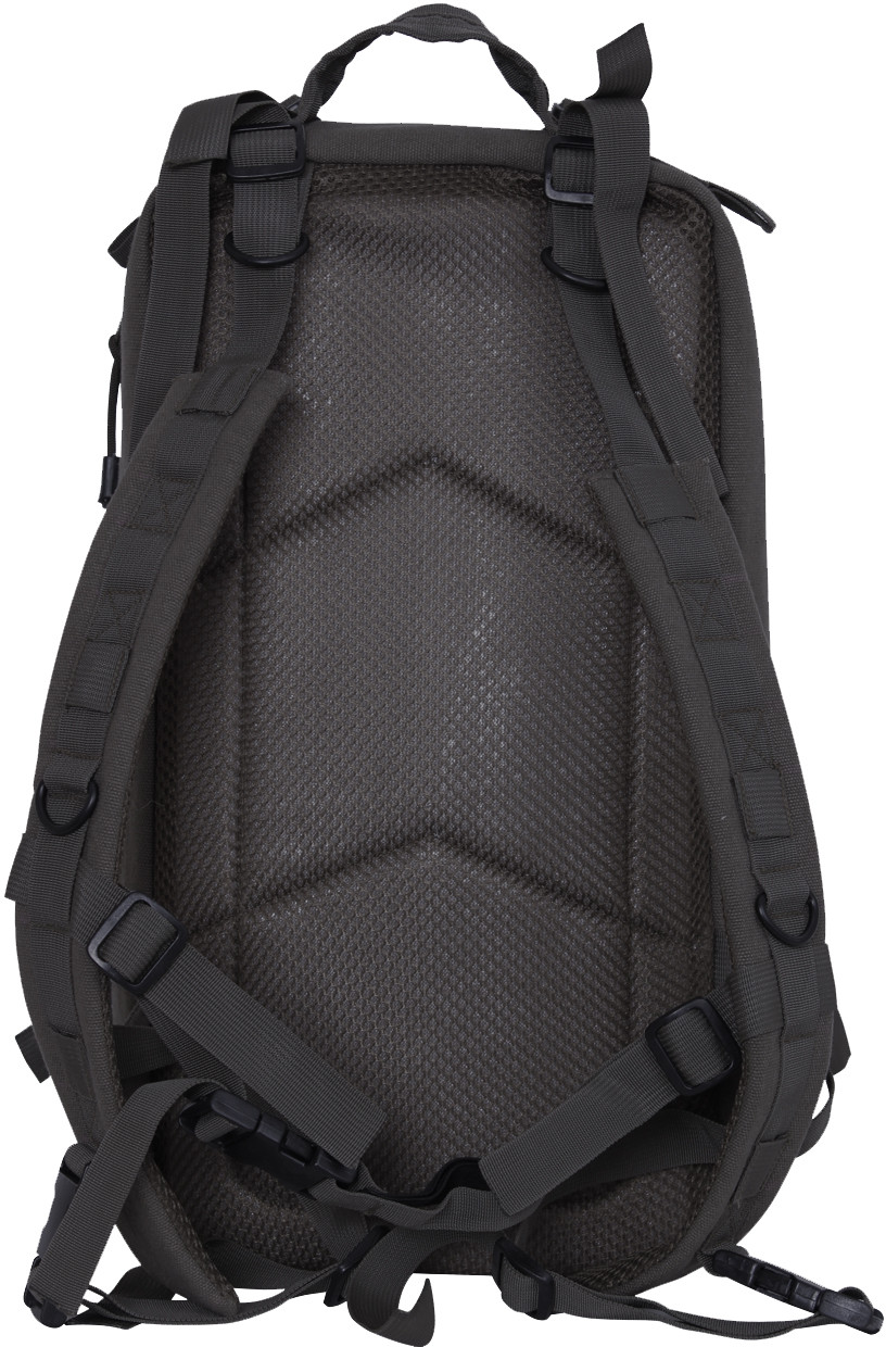 Black Canvas Military MOLLE Medium Transport Tactical Pack Backpack 25b10857a5f