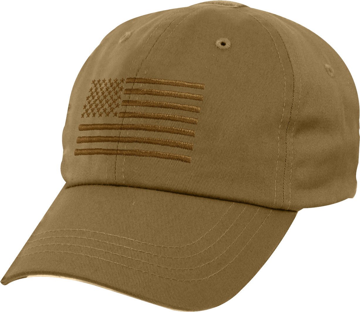 More Views. Coyote Brown Military US Flag Tactical Baseball Hat ... 806bc053f6a