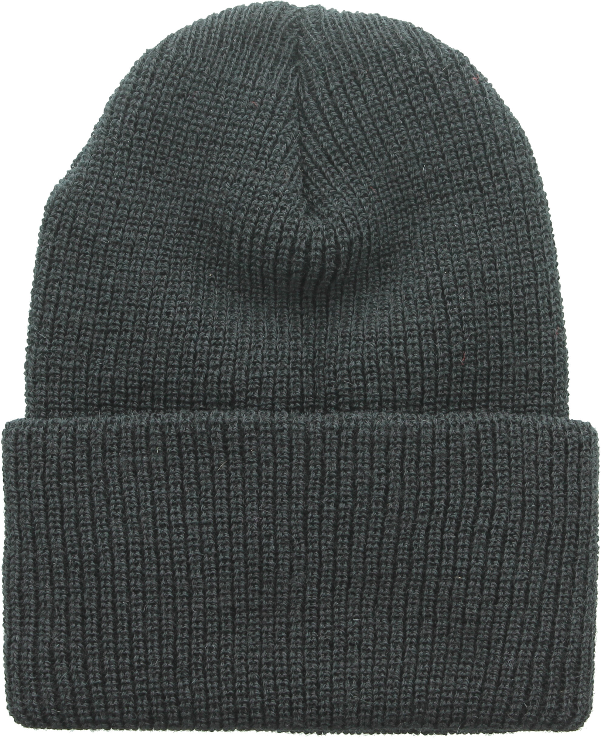 ada2e5bf84271 Heavyweight Worsted Wool Thick Ribbed Watch Cap Hat USA Made