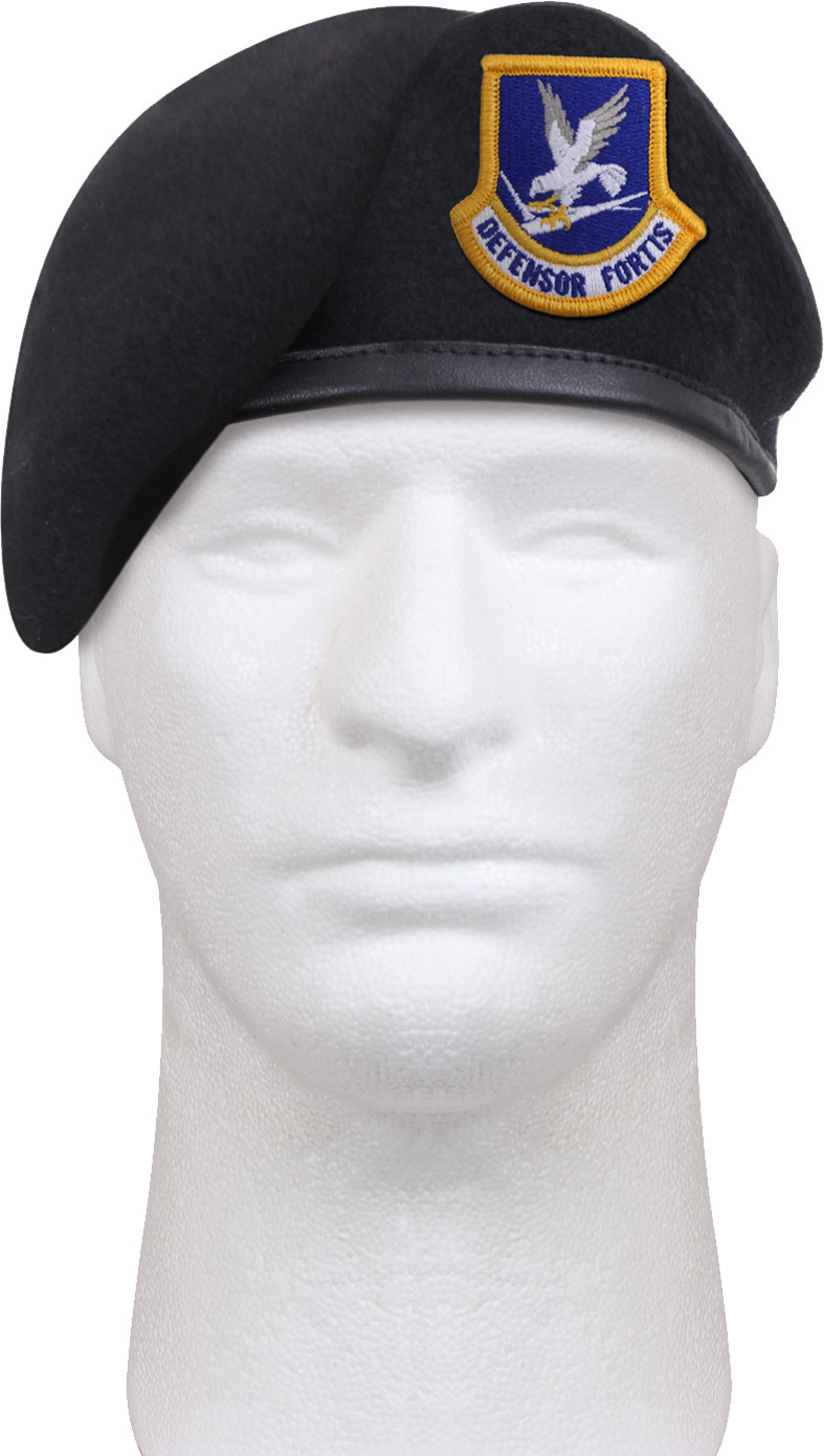 Midnight Blue US Air Force Defensor Fortis Inspection Ready Beret 9c859c651d1