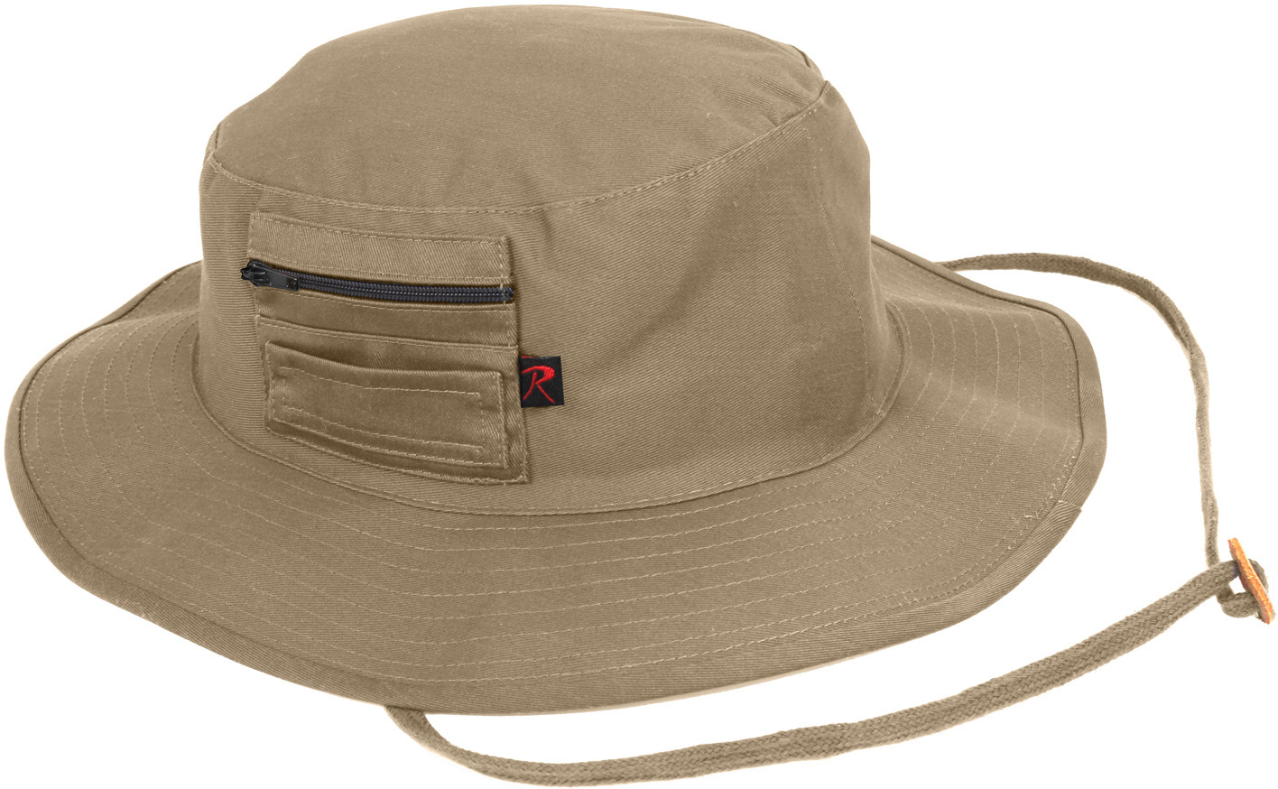 2ed36ec1549 More Views. Khaki Wide Brim Military MA-1 Style Boonie Hat ...