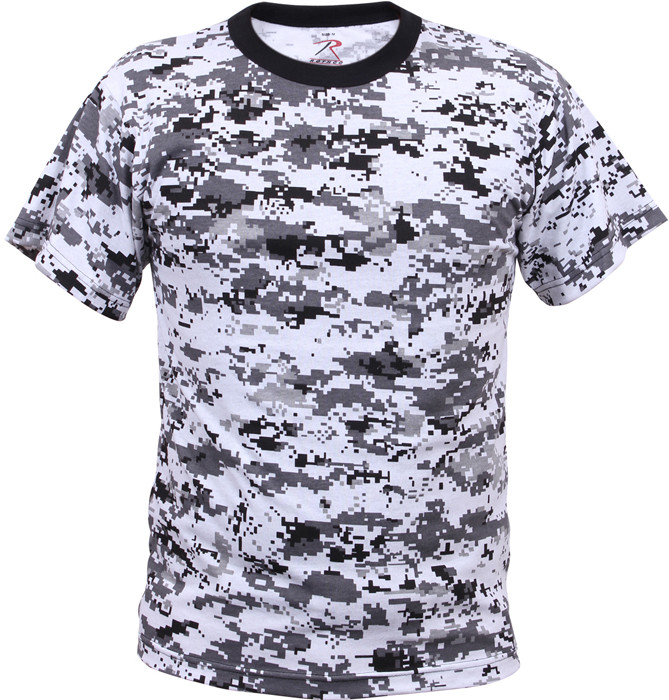 More Views. City Digital Camouflage Kids Military Tactical T-Shirt ... c0cea09c0a6